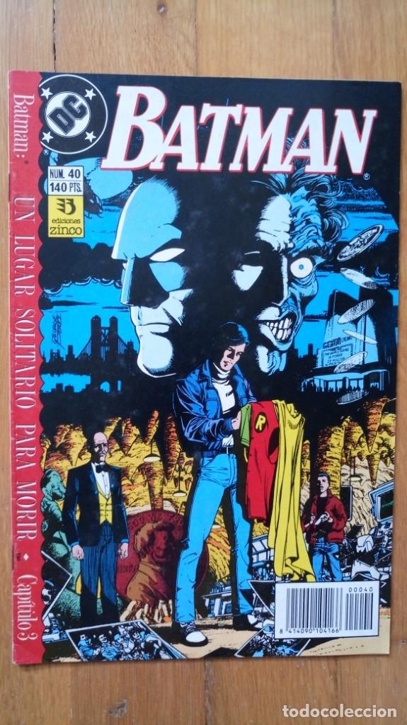 BATMAN 40 (Tebeos y Comics - Zinco - Batman)