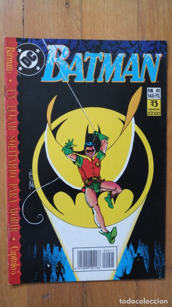BATMAN 41 (Tebeos y Comics - Zinco - Batman)