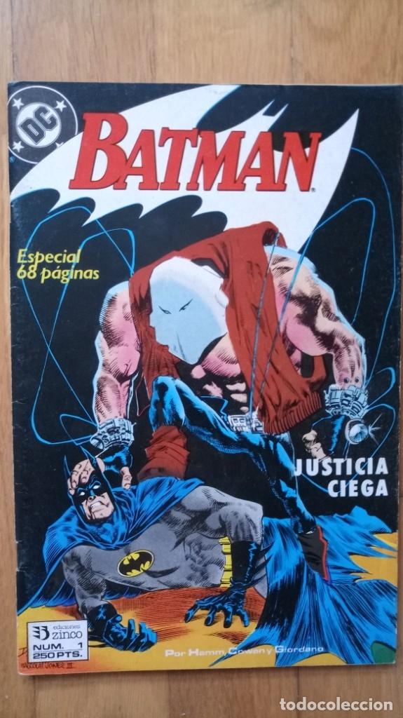 BATMAN JUSTICIA CIEGA 1 (Tebeos y Comics - Zinco - Batman)