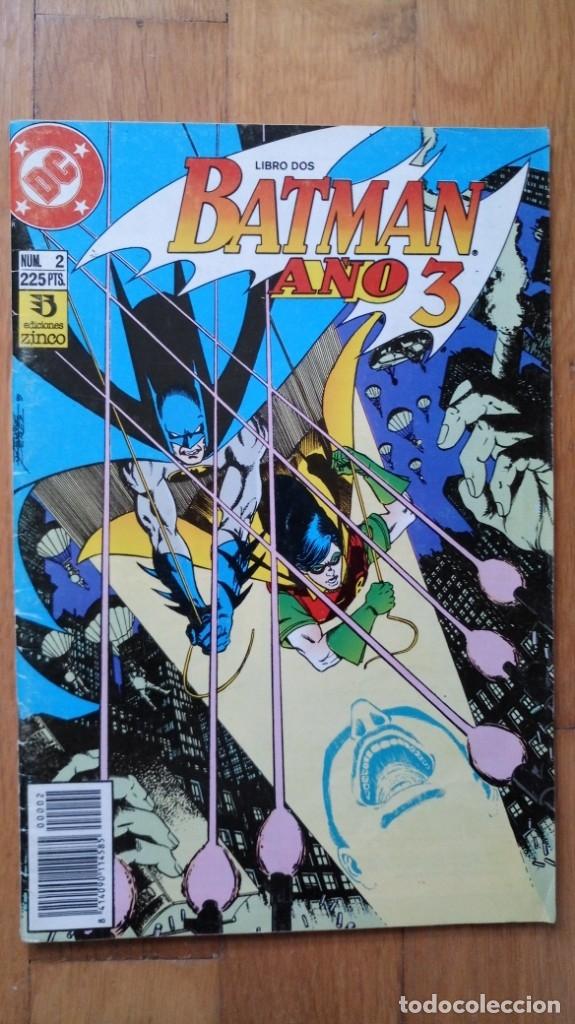 BATMAN AÑO 3, NÚMERO 2 (Tebeos y Comics - Zinco - Batman)