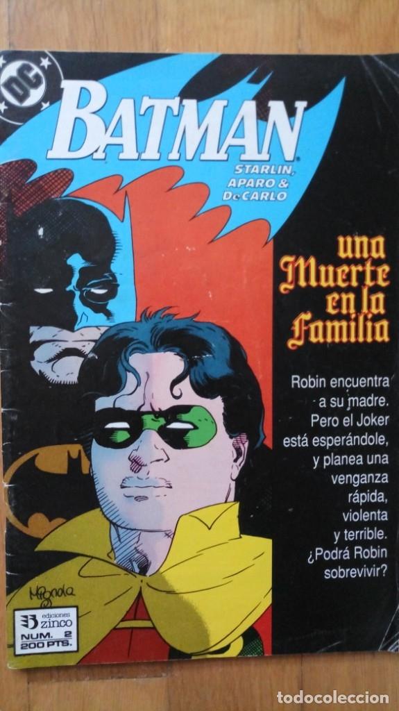 BATMAN: UNA MUERTE EN LA FAMILIA 2 (Tebeos y Comics - Zinco - Batman)