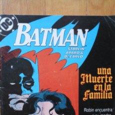 Cómics: BATMAN: UNA MUERTE EN LA FAMILIA 2. Lote 180344660