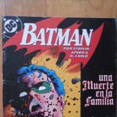 Cómics: BATMAN: UNA MUERTE EN LA FAMILIA 3. Lote 180344677