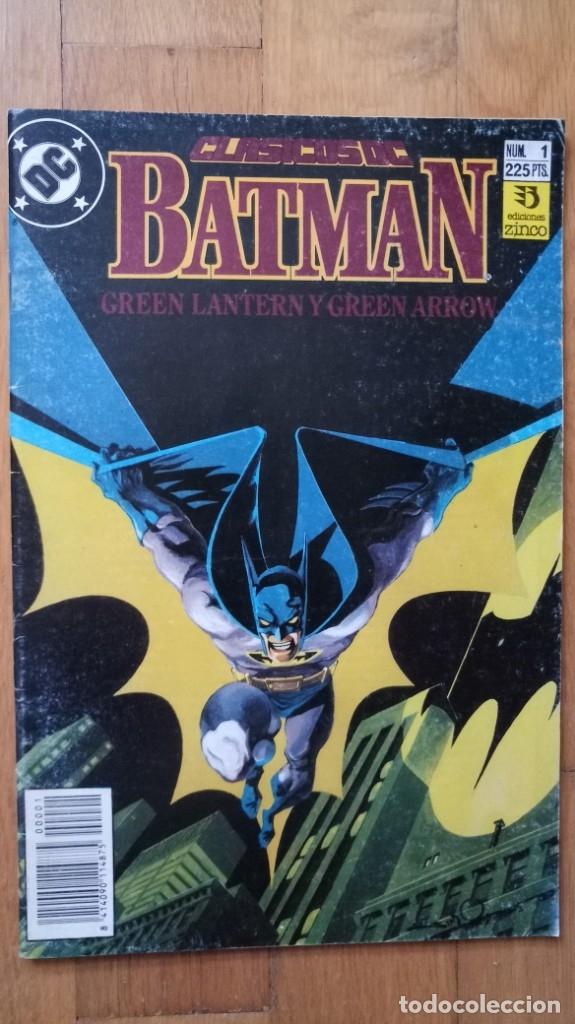 CLÁSICOS DC 1: BATMAN (Tebeos y Comics - Zinco - Batman)