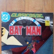 Cómics: CLÁSICOS DC: 9 LA SOMBRA DE BATMAN. Lote 180347335