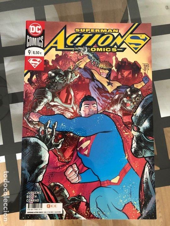 Cómics: Lote 9 cómics Superman Action Comics ECC - Foto 2 - 180404570