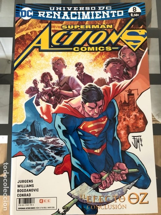Cómics: Lote 9 cómics Superman Action Comics ECC - Foto 3 - 180404570