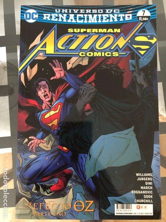 Cómics: Lote 9 cómics Superman Action Comics ECC - Foto 4 - 180404570