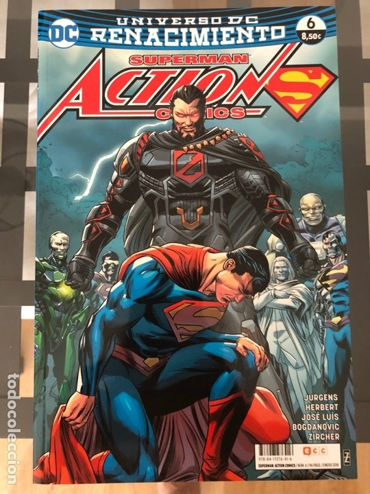 Cómics: Lote 9 cómics Superman Action Comics ECC - Foto 5 - 180404570