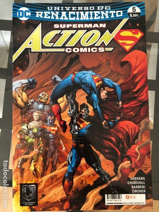 Cómics: Lote 9 cómics Superman Action Comics ECC - Foto 6 - 180404570