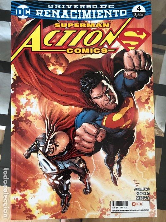 Cómics: Lote 9 cómics Superman Action Comics ECC - Foto 7 - 180404570