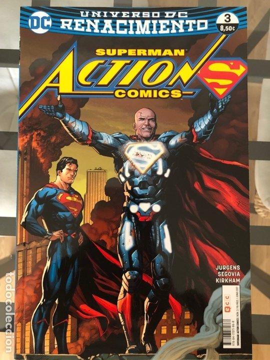 Cómics: Lote 9 cómics Superman Action Comics ECC - Foto 8 - 180404570