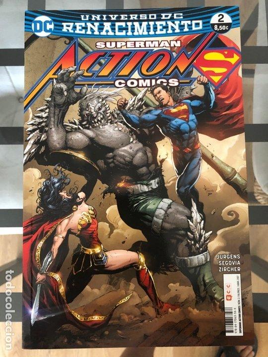 Cómics: Lote 9 cómics Superman Action Comics ECC - Foto 9 - 180404570