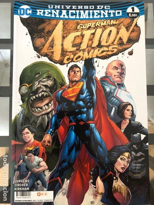 Cómics: Lote 9 cómics Superman Action Comics ECC - Foto 10 - 180404570