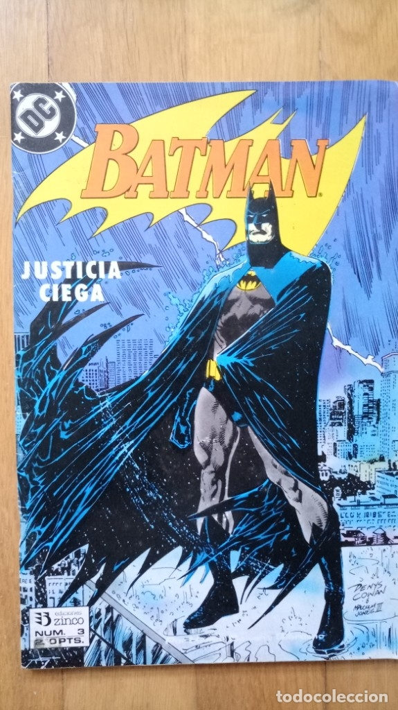 BATMAN JUSTICIA CIEGA 3 (Tebeos y Comics - Zinco - Batman)