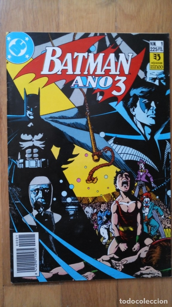 BATMAN AÑO 3, NÚMERO 1 (Tebeos y Comics - Zinco - Batman)