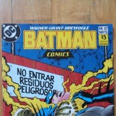 Cómics: BATMAN 37. Lote 180420498