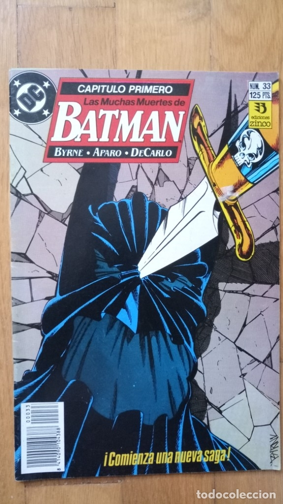 BATMAN 33 (Tebeos y Comics - Zinco - Batman)