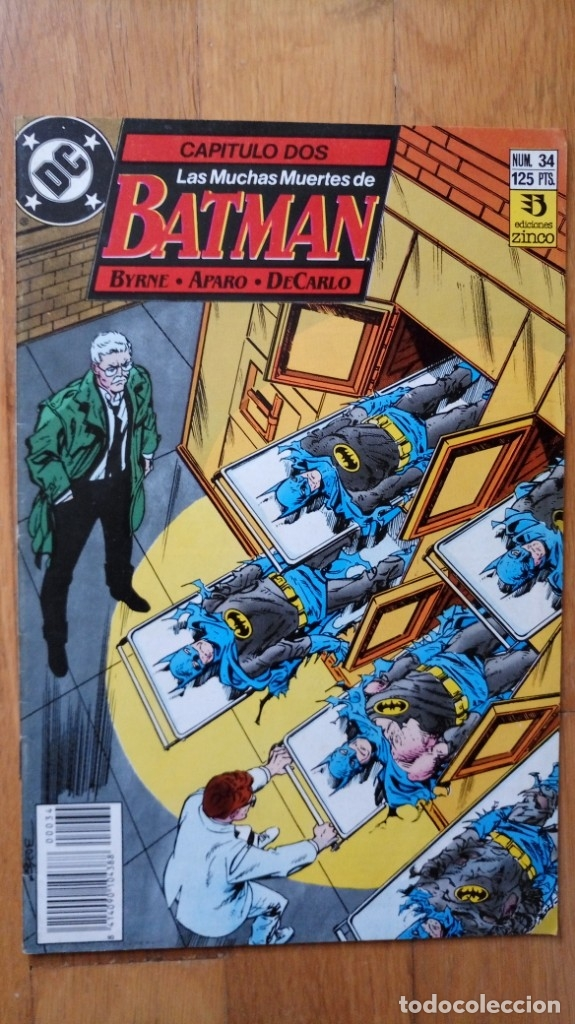 BATMAN 34 (Tebeos y Comics - Zinco - Batman)