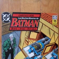 Cómics: BATMAN 34. Lote 180420573