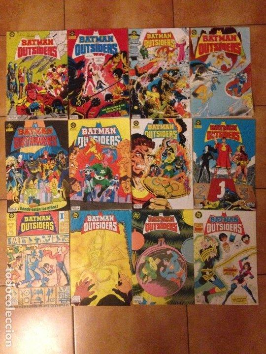 LOTE BATMAN Y LOS OUTSIDERS NºS 2 3 4 5 6 7 10 11 12 13 14 Y 15 - MIKE W BARR JIM APARO - ZINCO (Tebeos y Comics - Zinco - Batman)