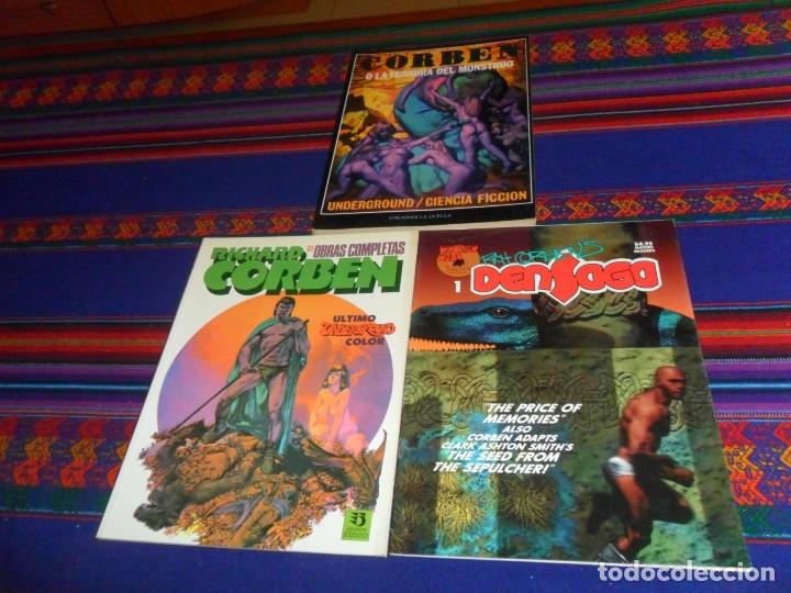 RICHARD CORBEN OBRAS COMPLETAS 12 ZINCO Y DENSAGA Nº 1 FANTAGOR PRESS. 1992. REGALO TERNURA MONSTRUO (Tebeos y Comics - Zinco - Prestiges y Tomos)