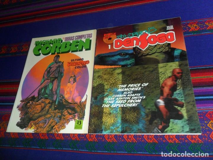 Cómics: RICHARD CORBEN OBRAS COMPLETAS 12 ZINCO Y DENSAGA Nº 1 FANTAGOR PRESS. 1992. REGALO TERNURA MONSTRUO - Foto 2 - 180444475