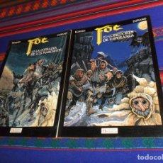 Cómics: FOC Nº 1 COMEDORES DE ESPERANZA Y Nº 2 LA COFRADÍA DE LOS MACHITOS. ZINCO 1991. BORDES DURAND. MBE.. Lote 180449357