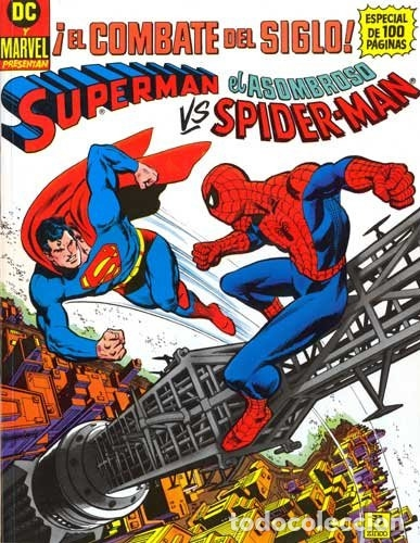 SUPERMAN VS EL ASOMBROSO SPIDERMAN - ZINCO - 1989 - FORMATO TABLOIDE (Tebeos y Comics - Zinco - Superman)