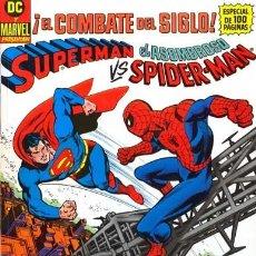 Cómics: SUPERMAN VS EL ASOMBROSO SPIDERMAN - ZINCO - 1989 - FORMATO TABLOIDE. Lote 180856310