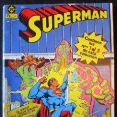 Cómics: SUPERMAN DEL 1 AL 5 - RETAPADO - ZINCO 1984. Lote 180882103