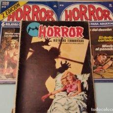 Cómics: LOTE HORROR 8, 18. HISTORIAS TERRORÍFICAS 1973. Lote 180884073