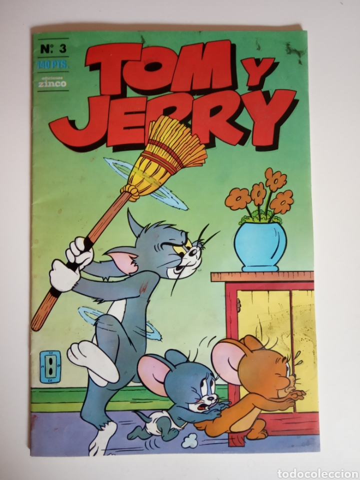 Cómics: Comic N° 3 de Tom y Jerry Año 1988 - Foto 1 - 181081803