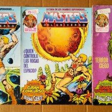 Cómics: LOTE MASTERS DEL UNIVERSO (ZINCO, 1987-1988). NÚMEROS 2-4-6-7-9-10-11-12-14. ¡MUCHAS FOTOS! HE-MAN.. Lote 181118595