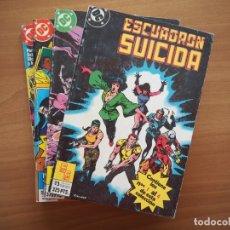 Comics: LOTE RETAPADOS ESCUADRÓN SUICIDA - Nº 1, 2, 3, 4 - COLECCIÓN COMPLETA. Lote 181128511