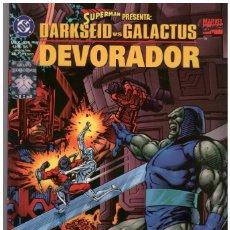 Cómics: JOHN BYRNE. DARKSEID VS GALACTUS. DEVORADOR. EDICIONES VID. Lote 207021801