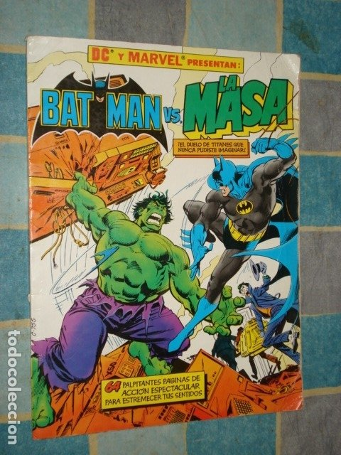 BATMAN VS LA MASA, 1989, ZINCO (Tebeos y Comics - Zinco - Batman)