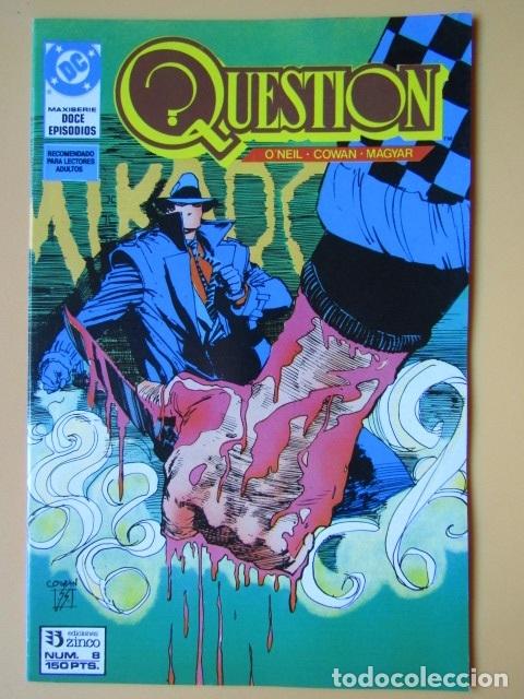 QUESTION. NÚM. 8. MAXISERIE, DOCE EPISODIOS. MIKADO - DENNIS O'NEIL. DENYS COWAN. RICK MAGYAR (Tebeos y Comics - Zinco - Question)