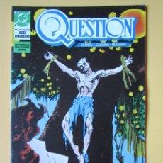 Cómics: QUESTION. NÚM. 9. MAXISERIE, DOCE EPISODIOS. VIGILANTES - DENNIS O'NEIL. DENYS COWAN. RICK MAGYAR. Lote 181329860