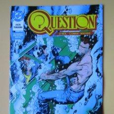 Cómics: QUESTION. NÚM. 13. ¡ALTA TENSIÓN! - DENNIS O'NEIL. DENYS COWAN. RICK MAGYAR. Lote 181329865