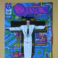 Cómics: QUESTION. NÚM. 11. ¡TRANSFORMACIÓN! - DENNIS O'NEIL. DENYS COWAN. RICK MAGYAR. Lote 181329872