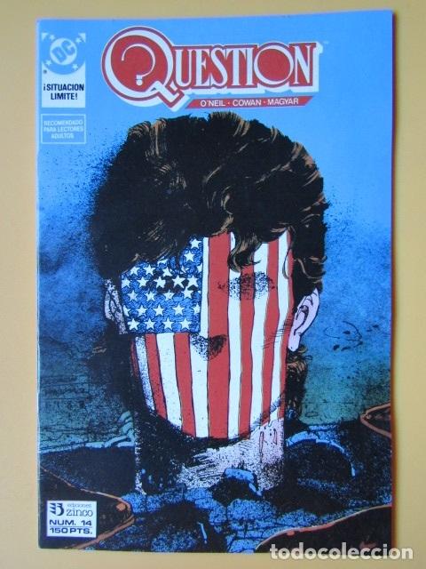 QUESTION. NÚM. 14. ¡SITUACIÓN LÍMITE! - DENNIS O'NEIL. DENYS COWAN. RICK MAGYAR (Tebeos y Comics - Zinco - Question)