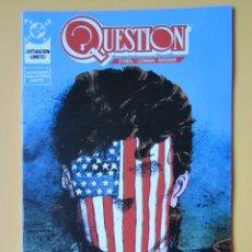 Cómics: QUESTION. NÚM. 14. ¡SITUACIÓN LÍMITE! - DENNIS O'NEIL. DENYS COWAN. RICK MAGYAR. Lote 181329875