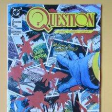 Cómics: QUESTION. NÚM. 10. LA BÚSQUEDA DE RODOR - DENNIS O'NEIL. DENYS COWAN. RICK MAGYAR. Lote 181329880