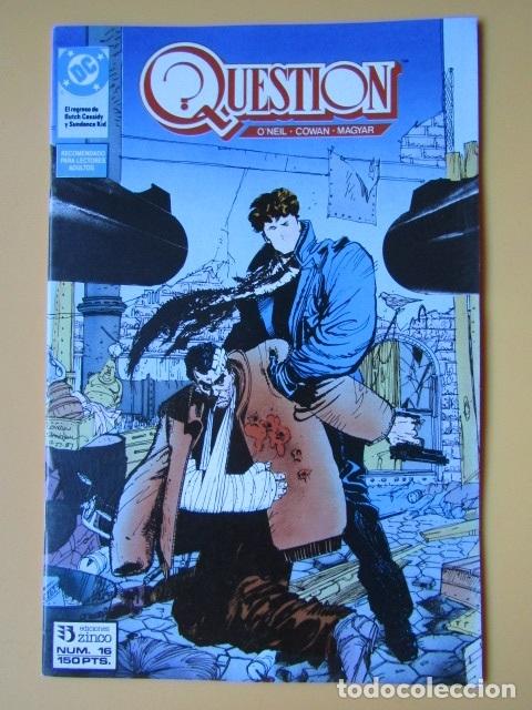 QUESTION. NÚM. 16. EL REGRESO DE BUTCH CASSIDY Y SUNDANCE KID - DENNIS O'NEIL. DENYS COWAN. RICK MAG (Tebeos y Comics - Zinco - Question)