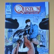 Cómics: QUESTION. NÚM. 16. EL REGRESO DE BUTCH CASSIDY Y SUNDANCE KID - DENNIS O'NEIL. DENYS COWAN. RICK MAG. Lote 181329892