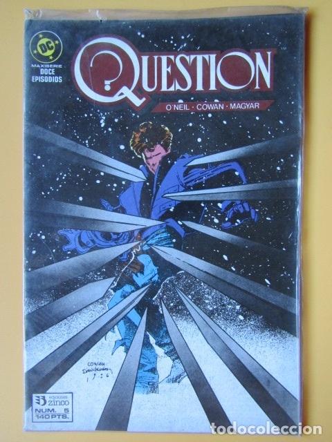 QUESTION. NÚM. 5. MAXISERIE, DOCE EPISODIOS - DENNIS O'NEIL. DENYS COWAN. RICK MAGYAR (Tebeos y Comics - Zinco - Question)