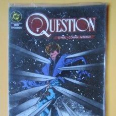 Cómics: QUESTION. NÚM. 5. MAXISERIE, DOCE EPISODIOS - DENNIS O'NEIL. DENYS COWAN. RICK MAGYAR. Lote 181329893