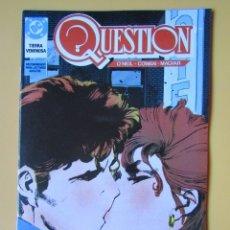 Cómics: QUESTION. NÚM. 12. TIERRA VENENOSA - DENNIS O'NEIL. DENYS COWAN. RICK MAGYAR. Lote 181329908