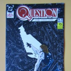 Comics: QUESTION. NÚM. 31. ¿EL FIN? - DENNIS O'NEIL. DENYS COWAN. MALCOM JONES III. Lote 181329917